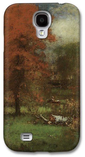 The Mill Pond Galaxy S4 Case by George Inness