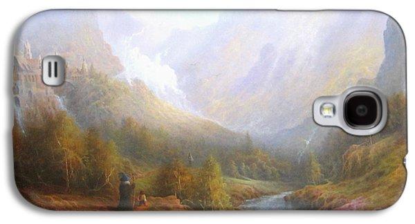 Misty Galaxy S4 Cases - The Misty Mountains Galaxy S4 Case by Joe  Gilronan