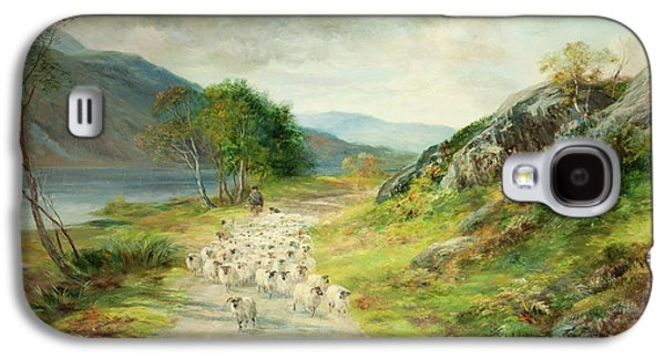 The Mountains Of Moidart Galaxy S4 Case by John MacWhirter