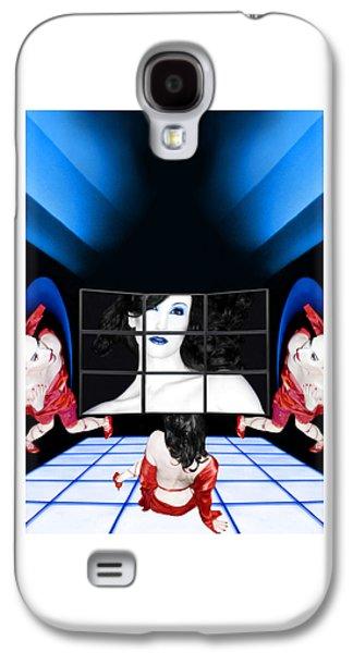 Dreamscape Galaxy S4 Cases - The New Years Dream - Self Portrait Galaxy S4 Case by Jaeda DeWalt
