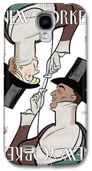 Barack Obama Galaxy S4 Cases - The New Yorker Cover - February 11th, 2008 Galaxy S4 Case by Conde Nast