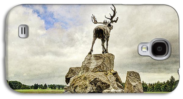 The Newfoundland Caribou Above The Trenches Galaxy S4 Case by Weston Westmoreland