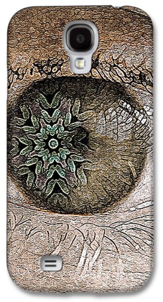 Abstract Nature Galaxy S4 Cases - The Observer Galaxy S4 Case by Susan Maxwell Schmidt