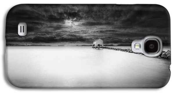 Sheds Galaxy S4 Cases - The Old Boat Shed Galaxy S4 Case by Erik Brede