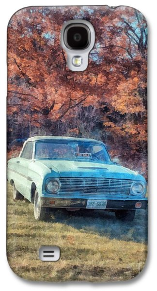 The Old Ford On The Side Of The Road Galaxy S4 Case by Edward Fielding