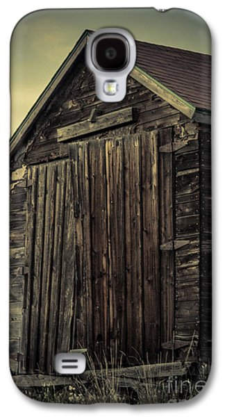 Shed Digital Art Galaxy S4 Cases - The Old Shed Galaxy S4 Case by Lisa Killins