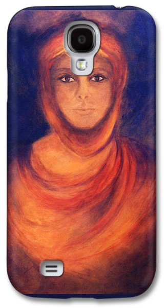 Spiritual Portrait Of Woman Galaxy S4 Cases - The Oracle Galaxy S4 Case by Marina Petro