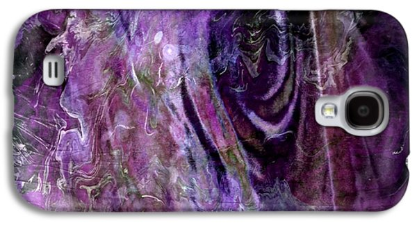 Abstract Digital Paintings Galaxy S4 Cases - The Other Side Galaxy S4 Case by TLynn Brentnall
