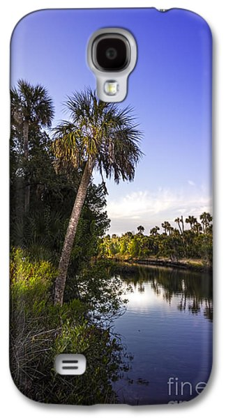 Park Scene Galaxy S4 Cases - The Palm Stream Galaxy S4 Case by Marvin Spates