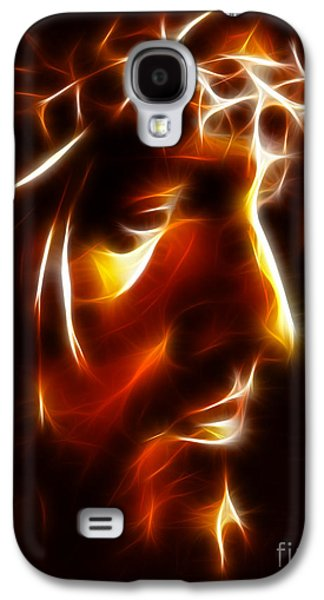Spirituality Galaxy S4 Cases - The Passion of Christ Galaxy S4 Case by Pamela Johnson
