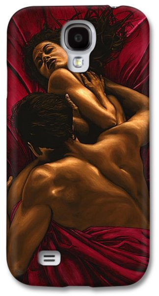 Eyes Galaxy S4 Cases - The Passion Galaxy S4 Case by Richard Young
