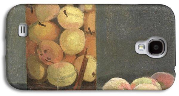 The Peach Glass Galaxy S4 Case by Claude Monet