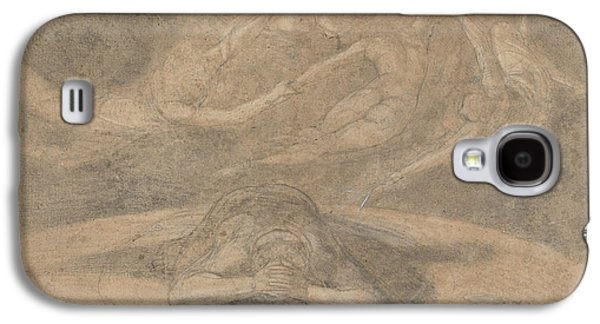 Swiss Drawings Galaxy S4 Cases - The Peasants Dream Paradise Lost Book 1 Galaxy S4 Case by Henry Fuseli