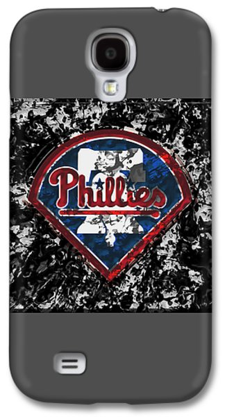 The Philadelphia Phillies 1a Galaxy S4 Case by Brian Reaves