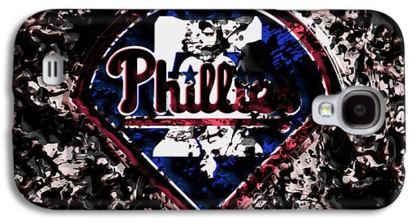 The Philadelphia Phillies Galaxy S4 Case by Brian Reaves