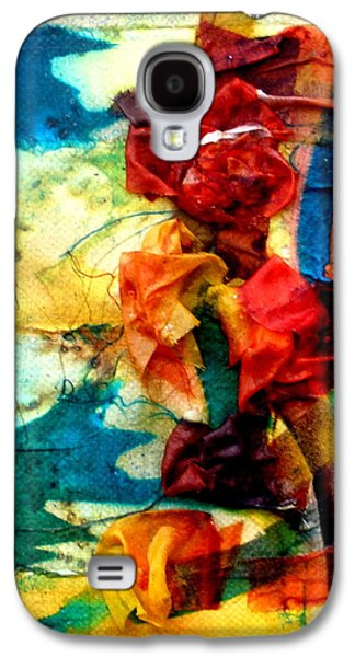 Nature Abstract Tapestries - Textiles Galaxy S4 Cases - The Pond Galaxy S4 Case by Beverly Johnson