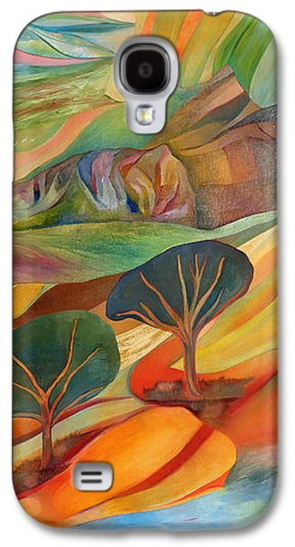 Self Discovery Galaxy S4 Cases - The Promised Land Galaxy S4 Case by Linda Cull