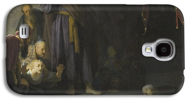 Raising Galaxy S4 Cases - The Raising of Lazarus Galaxy S4 Case by Rembrandt