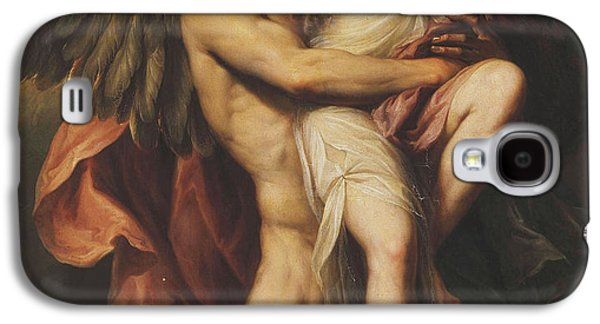 Goddess Mythology Paintings Galaxy S4 Cases - The Rape of Oreithyia Galaxy S4 Case by Giovanni Battista Cipriani