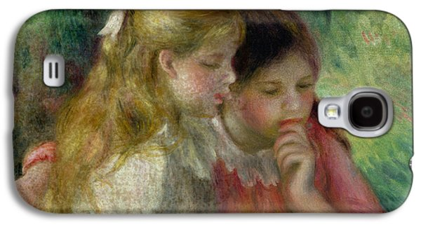 The Reading Galaxy S4 Case by Pierre Auguste Renoir