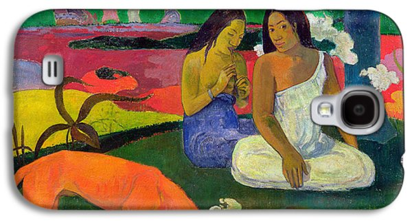 The Red Dog Galaxy S4 Case by Paul Gauguin