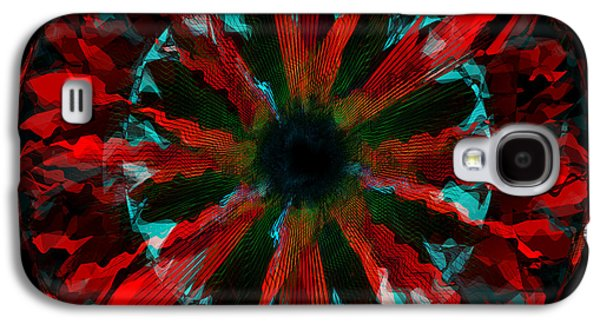 Bison Digital Galaxy S4 Cases - The Red Lotus 3 Galaxy S4 Case by Andrew Kaupe