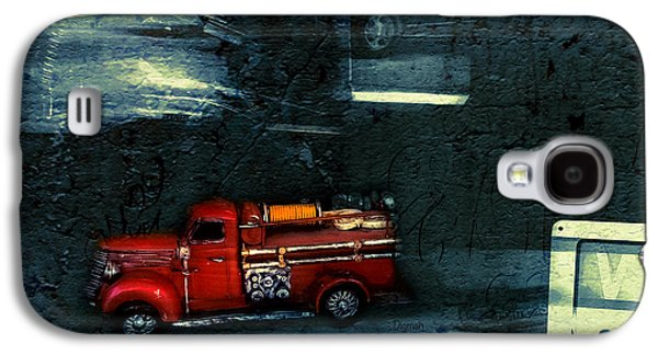 Digital Galaxy S4 Cases - The Red Truck Galaxy S4 Case by Steven  Digman