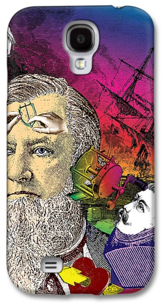 Fanciful Galaxy S4 Cases - The Report Galaxy S4 Case by Eric Edelman