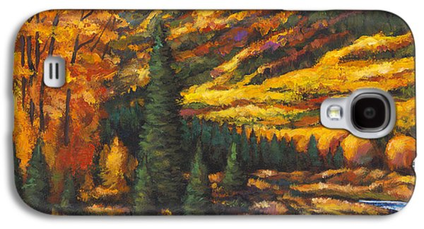 Taos Galaxy S4 Cases - The River Runs Galaxy S4 Case by Johnathan Harris