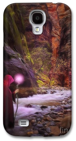 Road Travel Galaxy S4 Cases - The Road Less Traveled Galaxy S4 Case by John Edwards
