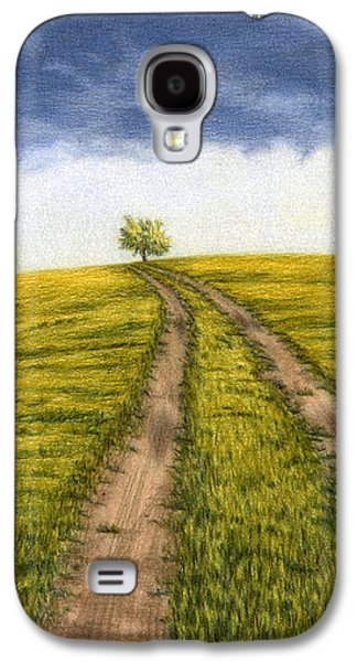 The Road Less Traveled Galaxy S4 Case by Sarah Batalka