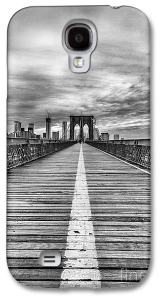 City Scene Galaxy S4 Cases - The road to tomorrow Galaxy S4 Case by John Farnan