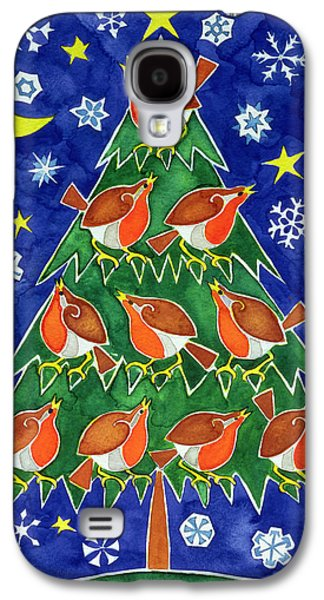 The Robins Chorus Galaxy S4 Case by Cathy Baxter