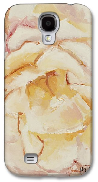 Nature Center Paintings Galaxy S4 Cases - The Rose Galaxy S4 Case by Katie OBrien - Printscapes