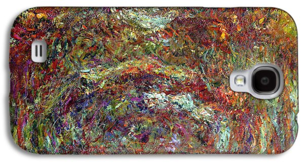 The Rose Path Giverny Galaxy S4 Case by Claude Monet