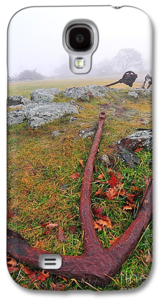 The Rusty Anchor  Galaxy S4 Case by Catherine Reusch Daley