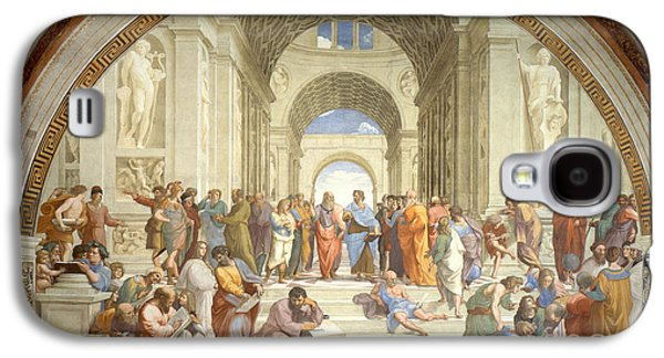 The School Of Athens, Raphael Galaxy S4 Case by Science Source
