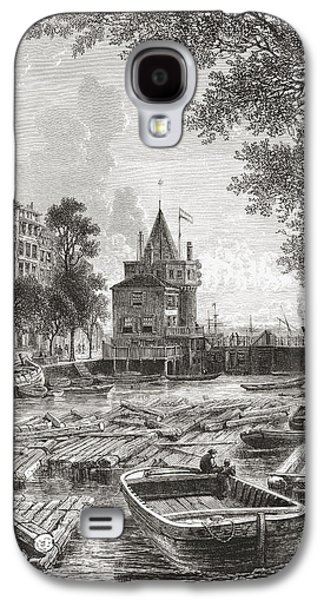 Tear Drawings Galaxy S4 Cases - The Schreierstoren Or The Tower Of Galaxy S4 Case by Ken Welsh