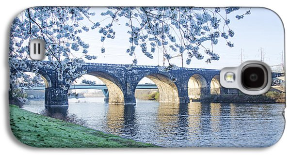 Schuylkill Galaxy S4 Cases - The Schuylkill River at Springtime Galaxy S4 Case by Bill Cannon