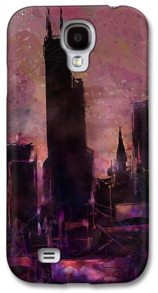 Girl Galaxy S4 Cases - The Sears Tower Galaxy S4 Case by Rachel Christine Nowicki