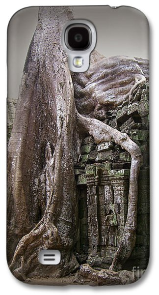Tree Roots Galaxy S4 Cases - The Secrets of Angkor Galaxy S4 Case by Eena Bo