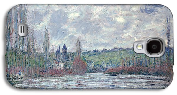 The Seine In Flood At Vetheuil Galaxy S4 Case by Claude Monet