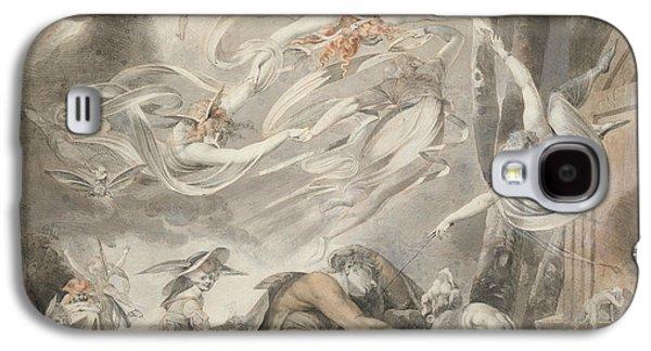 The Shepherd's Dream Galaxy S4 Case by Henry Fuseli