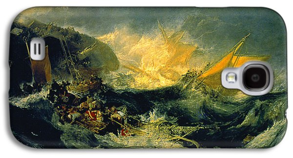 The Shipwreck Of The Minotaur Galaxy S4 Case by MotionAge Designs
