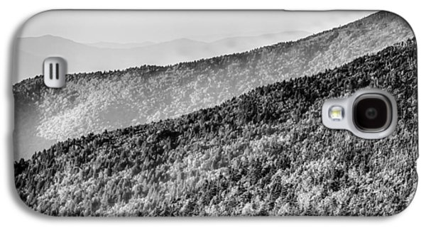 Nature Abstract Galaxy S4 Cases - The simple layers of the Smokies at sunset - Smoky Mountain Nat. Galaxy S4 Case by Alexandr Grichenko