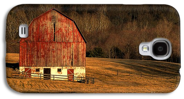 Old Barns Galaxy S4 Cases - The Simple Life Galaxy S4 Case by Lois Bryan