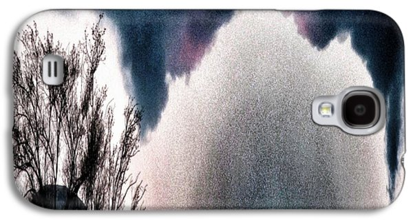 Nature Abstract Galaxy S4 Cases - The Sky is Falling Galaxy S4 Case by Marianna Mills