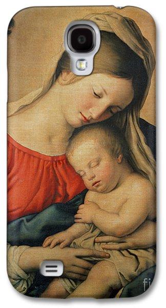 Religious Galaxy S4 Cases - The Sleeping Christ Child Galaxy S4 Case by Il Sassoferrato