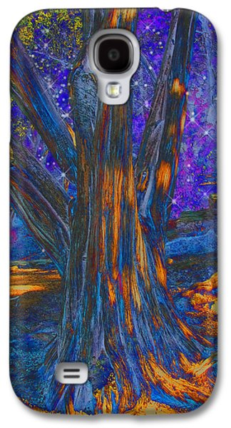 Photo Manipulation Galaxy S4 Cases - The Sleeping Tree Galaxy S4 Case by Wendy J St Christopher
