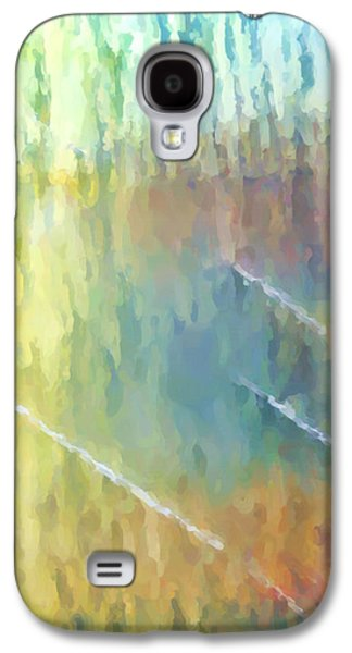 Abstract Digital Mixed Media Galaxy S4 Cases - The smell of rain Galaxy S4 Case by Tom Druin